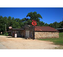Route 66 - Phillips 66 Gas Station Photographic Print