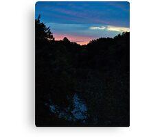 Dawn at Palisades State Park Canvas Print