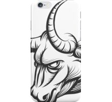 Bull Head iPhone Case/Skin