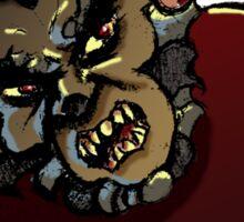 Halloween: Wolfman 2012 Sticker