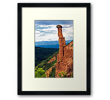 beauty of earth pyramides Framed Print