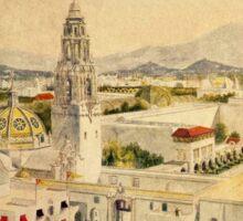 1915 Panama–California Exposition  Sticker