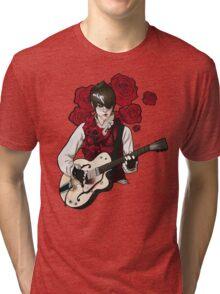 Rose Vest Tri-blend T-Shirt
