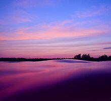Sunset  by DrewK