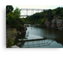 Bridge Over the Gorge Canvas Print