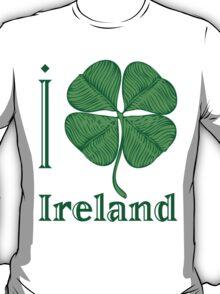 I LOVE IRELAND  T-shirt T-Shirt