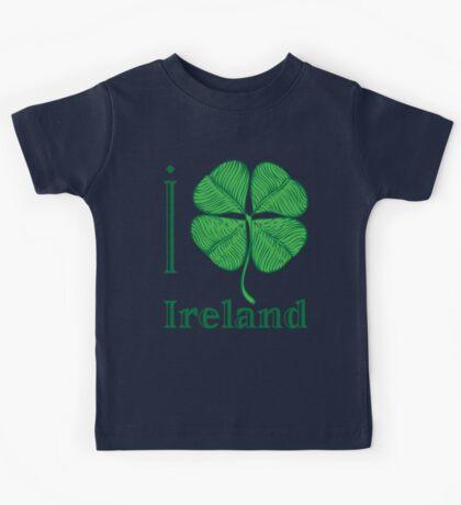 I LOVE IRELAND  T-shirt Kids Tee