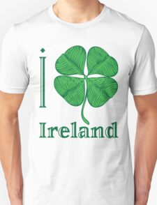 I LOVE IRELAND  T-shirt T-Shirt