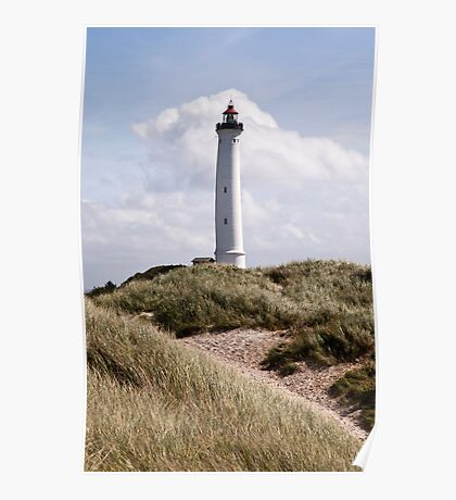 Lyngvig Lighthouse Poster