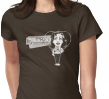 My Milkshake Brings All The Boys To The Yard. Womens Fitted T-Shirt