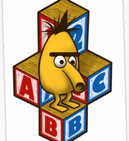 ABC-Bert Sticker