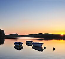 Crag Lough on Hadrian's Wall - c8 by Joan Thirlaway