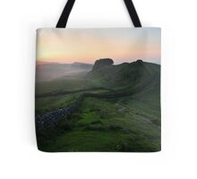 Hadrian's Wall on Cuddys Crag - c6 Tote Bag