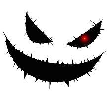 Scary Pumpkin Face by pixelman