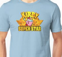 Kirby Super Star (SNES) Title Screen Unisex T-Shirt