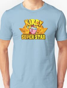 Kirby Super Star (SNES) Title Screen T-Shirt