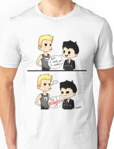 Moriarty burned the cookie Unisex T-Shirt