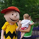 High Five with Charlie Brown by Karen Checca