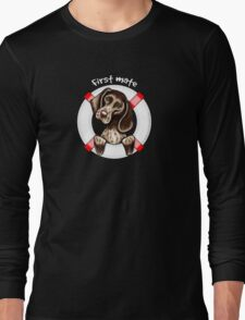 German Shorthaired Pointer :: First Mate Long Sleeve T-Shirt
