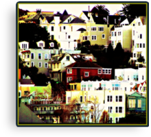 Windows on the Hill Canvas Print