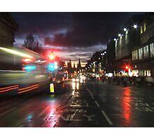 Princes Street, Edinburgh Photographic Print