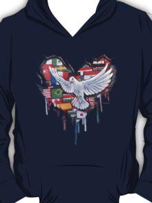 Peace by Jody Steel T-Shirt