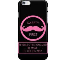 Warfstache Safety First iPhone Case/Skin