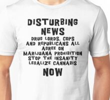Legalize Cannabis Unisex T-Shirt