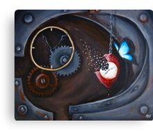 Rebirth for a Clockwork Soul Canvas Print