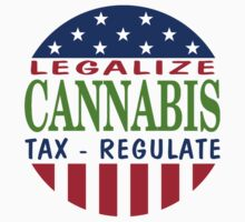 Legalize Cannabis by MarijuanaTshirt