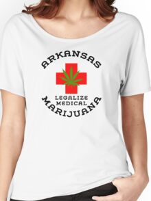 Arkansas Legalize Medical Marijuana Women's Relaxed Fit T-Shirt
