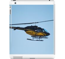 Helicopter still iPad Case/Skin