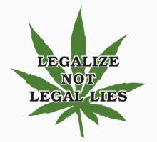 Legalize it by MarijuanaTshirt