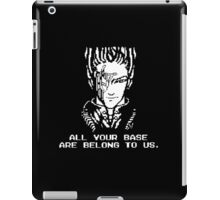 All Your Base - Black T iPad Case/Skin