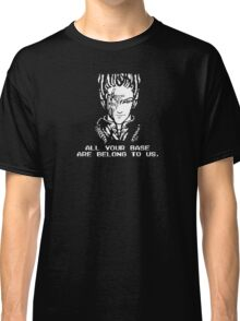 All Your Base - Black T Classic T-Shirt