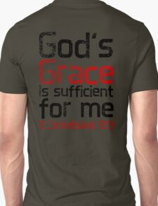 God's Grace is Sufficient 2 Corinthians 12:9 T-Shirt