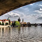 Prague - Under the Bridge by Eugenio