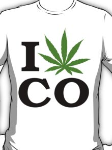 I Marijuana Colorado T-Shirt