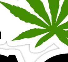 I Marijuana Colorado Sticker