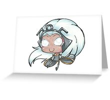 Ororo, Queen of the Storm Greeting Card
