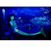Deep Blue World Photographic Print