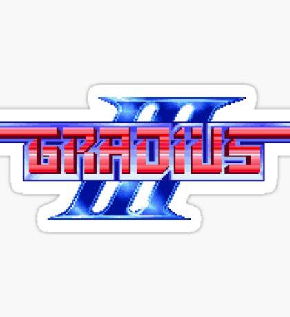 Gradius (SNES) Title Screen Sticker