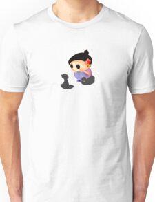 Staring contest Unisex T-Shirt