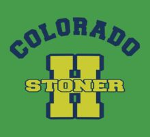 Colorado Marijuana by MarijuanaTshirt