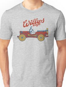 Willys-Overland MB 1941 Unisex T-Shirt