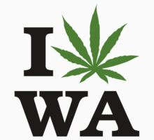 I Marijuana Washington by MarijuanaTshirt