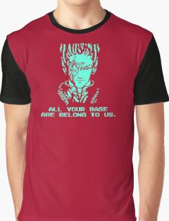 All Your Base - Red T Graphic T-Shirt