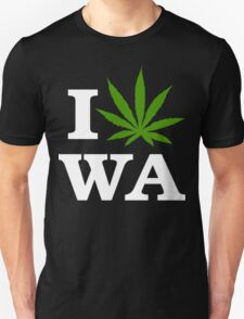 I Cannabis Washington T-Shirt