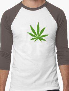 I Cannabis Oregon Men's Baseball ¾ T-Shirt