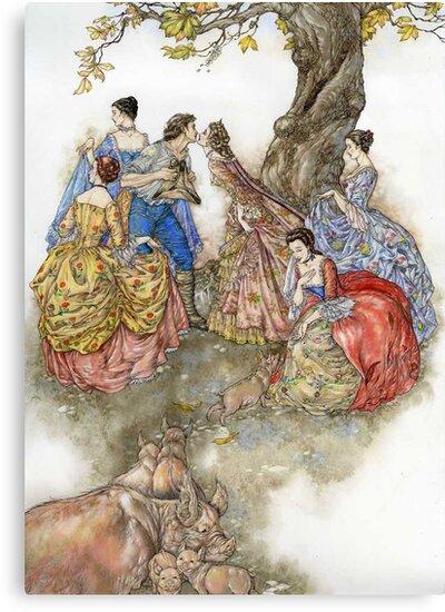 The Swineherd by Himmapaan